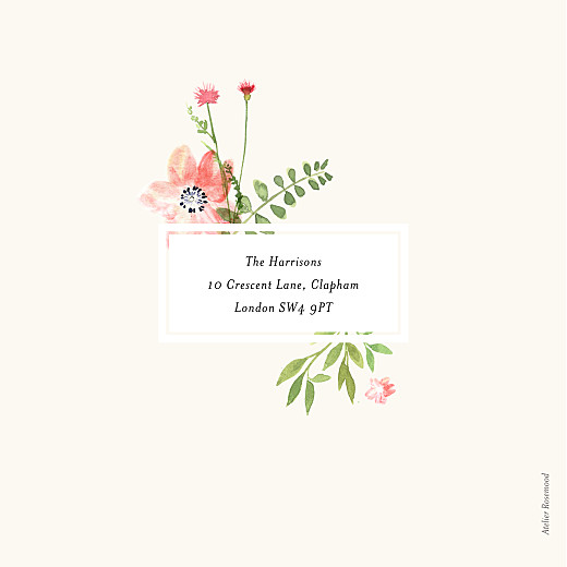 Baby Shower Invitations Spring blossom white - Page 4