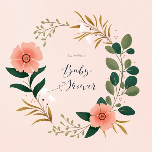 Baby Shower Invitations Daphné spring