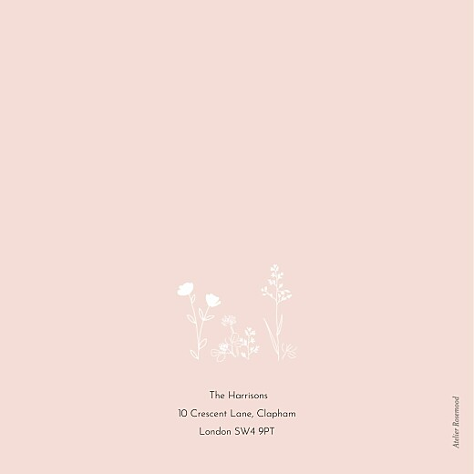 Baby Shower Invitations Melody pink - Page 4