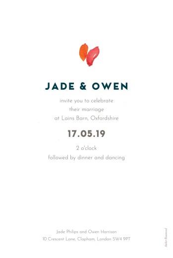 Wedding Invitations Bloom photo beige - Page 2