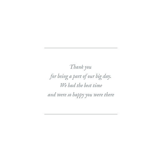 Wedding Thank You Cards Baby's breath (foil) kraft - Page 3