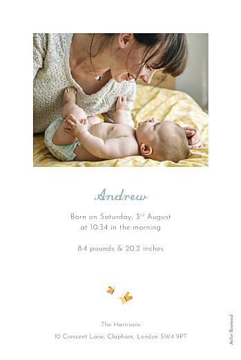 Baby Announcements Koala family of 3 white - Page 2