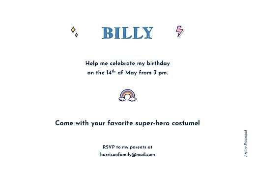 儿童派对邀请超级英雄绿色 - 第2页