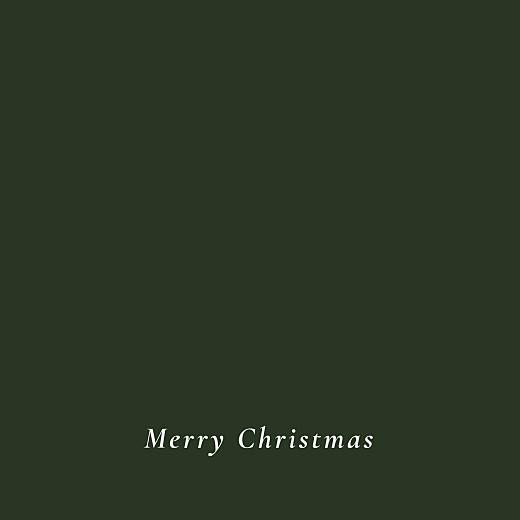 Christmas Cards Forever ferns (foil) green