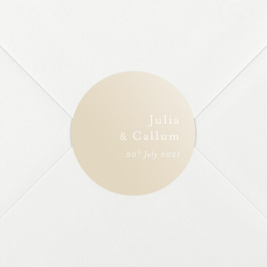 Wedding Envelope Stickers Coastal dream spikelets - View 2