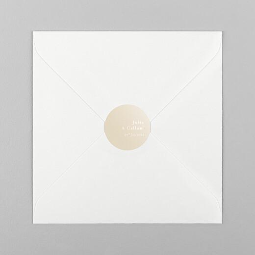 Wedding Envelope Stickers Coastal dream spikelets - View 1