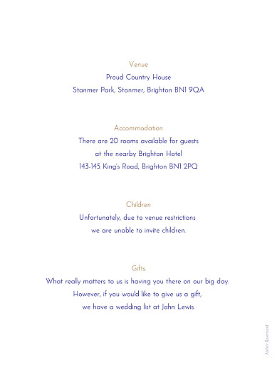 Guest Information Cards Love code blue - Page 2