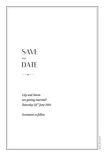 Save The Dates Insignia white - Page 2