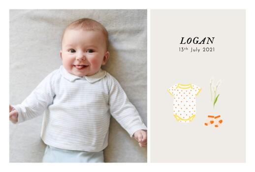 Baby Announcements Petit bateau x rosemood (photos) yellow