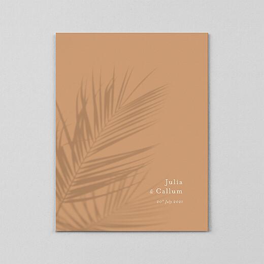 Wedding Invitations Mediterranean dream (vellum) palm tree - View 2