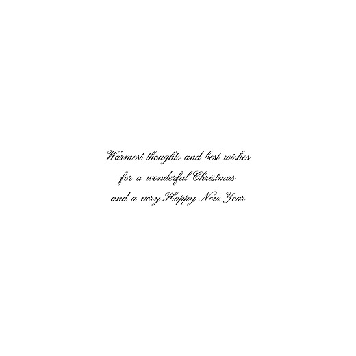 Christmas Cards Minimalist frame (foil) square green - Page 3