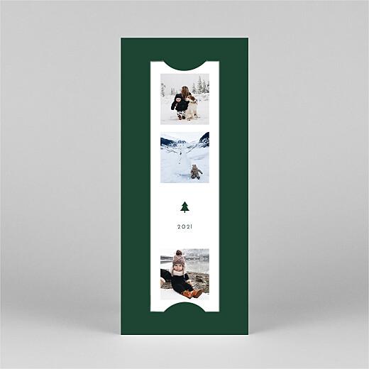 Christmas Cards Elegant sapling (bookmark) green - View 2