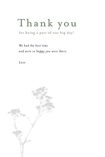 Wedding Thank You Cards Daydreamer (4 pages) gypsophile - Page 3