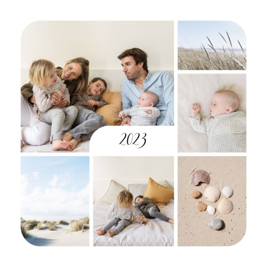 Christmas Cards Tender moments (photos) white