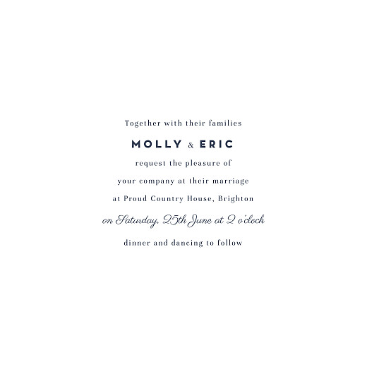 Wedding Invitations Swing white - Page 3
