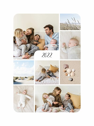 Posters Tender moments (8 photos) white finition