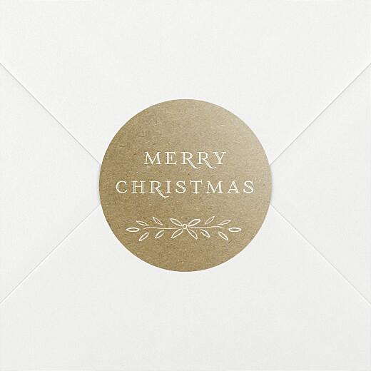 Christmas Stickers Poem kraft - View 2