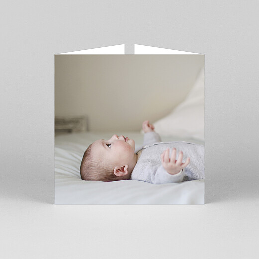 Baby Thank You Cards Sweet dreams (gatefold) pink - View 3