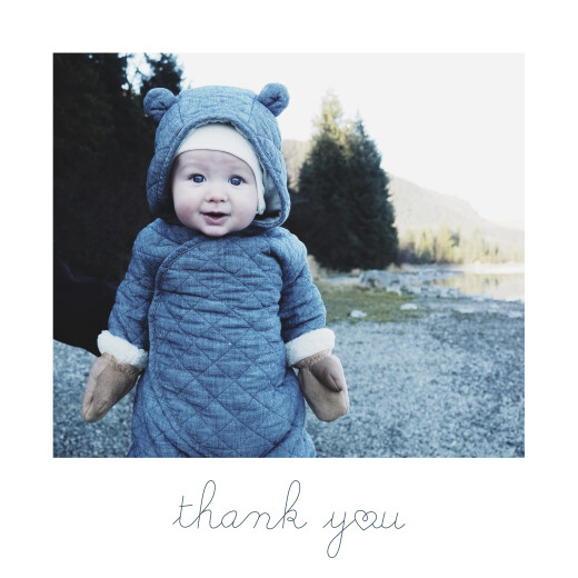 Baby Thank You Cards Darling (4 pages) thank you