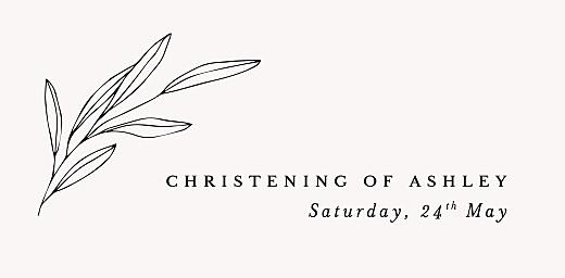 Christening Place Cards Budding branch chalk - Page 4