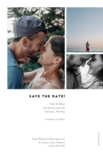 Save The Date Cards Emblem white - Page 2