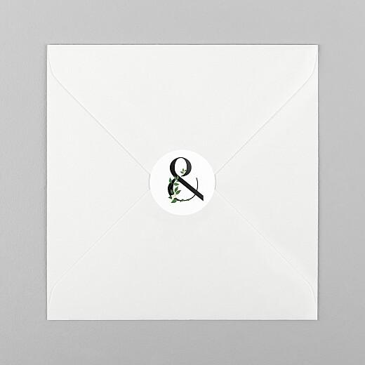 婚礼信封贴爱变(符号)白 - 查看1