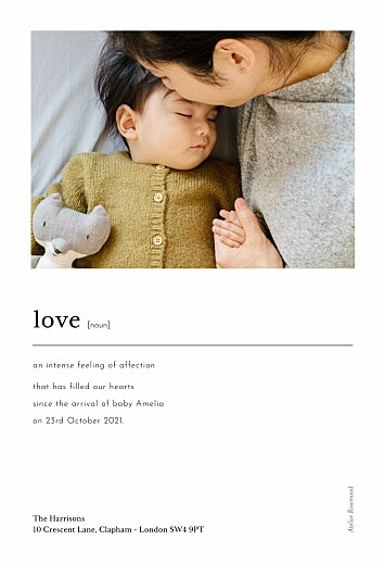 Baby Announcements In print white - Page 2