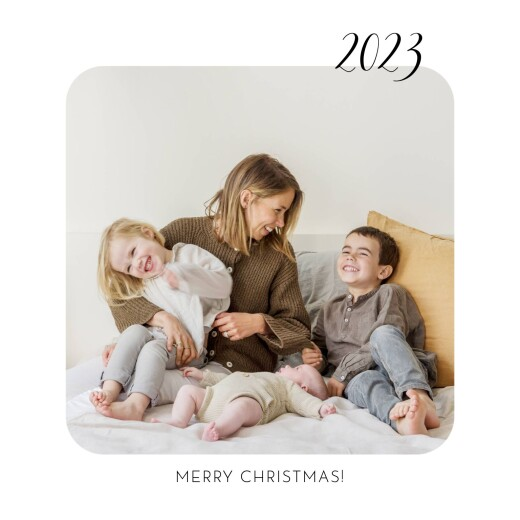 Christmas Cards Tender moments white