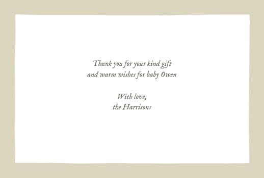 婴儿感谢卡的小狐狸米色 - 第3页