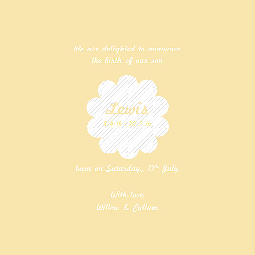 Baby Announcements Kittens yellow - Page 3
