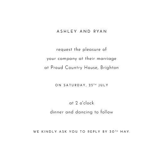 Wedding Invitations Love grows white - Page 3