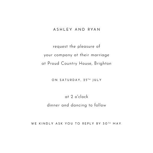 婚礼请柬的爱一天比一天白 - 第3页