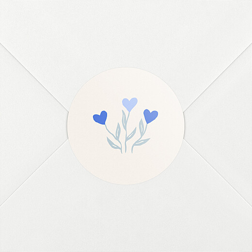 Baby Stickers Love blossoms blue - View 2