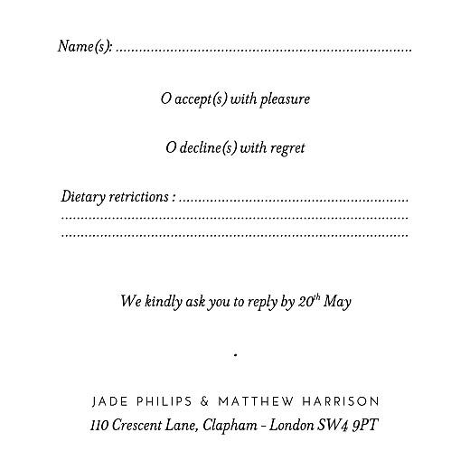 RSVP Cards Gypsophila beige - Page 2