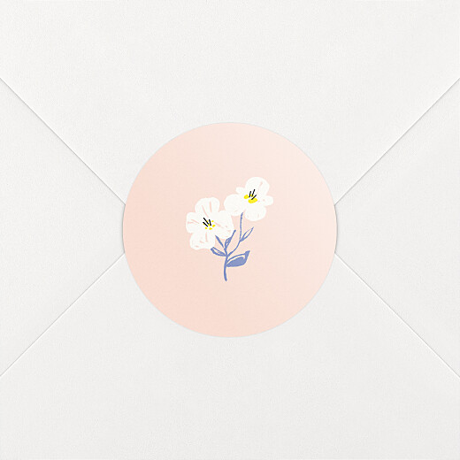 Baby Stickers Cherry blossom pink - View 2