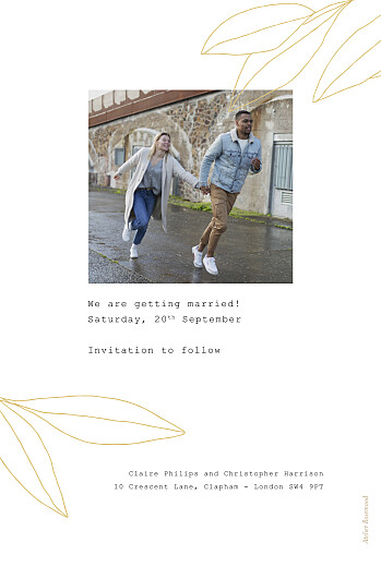 Save The Date Cards Season yellow - Page 2