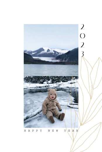 Christmas Cards Season (4 pages) yellow