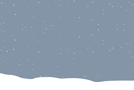 Christmas Cards Festive flurries (4 pages) blue - Page 2