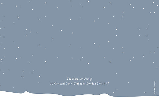 Christmas Cards Festive flurries (4 pages) blue - Page 4