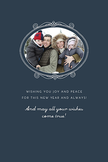 Christmas Cards Christmas kisses (4 pages) blue - Page 3