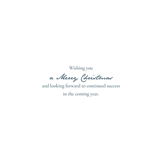 Business Christmas Cards Baby's breath chic (foil) red - Page 3