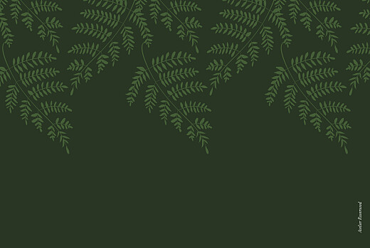 Business Christmas Cards Forever ferns green - Page 4
