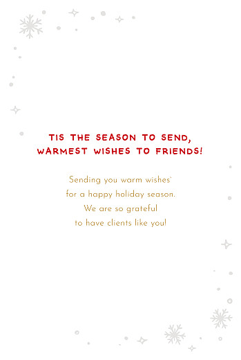 Business Christmas Cards Holly jolly christmas kraft - Page 3