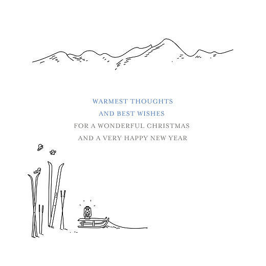 Business Christmas Cards Winter promise white - Page 3