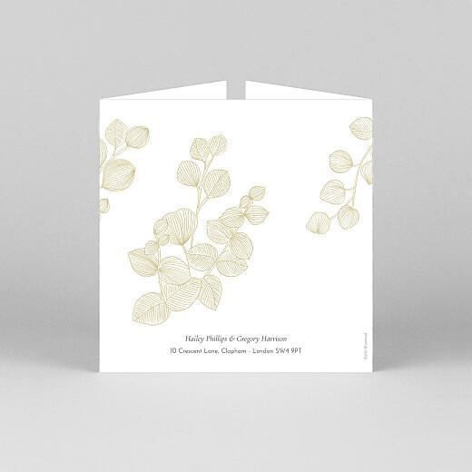 Wedding Invitations Everlasting eucalyptus (gatefold) bis beige - View 3