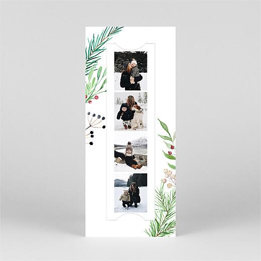 Christmas Cards Festive season (bookmark) green - View 2