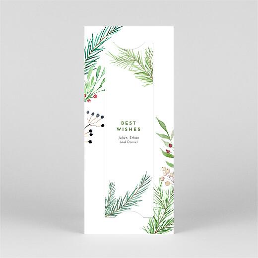 Christmas Cards Festive season (bookmark) green - View 3