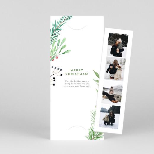 Christmas Cards Festive season (bookmark) green - View 1