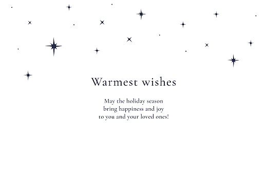 Christmas Cards Starry starry night (foil) white - Page 3