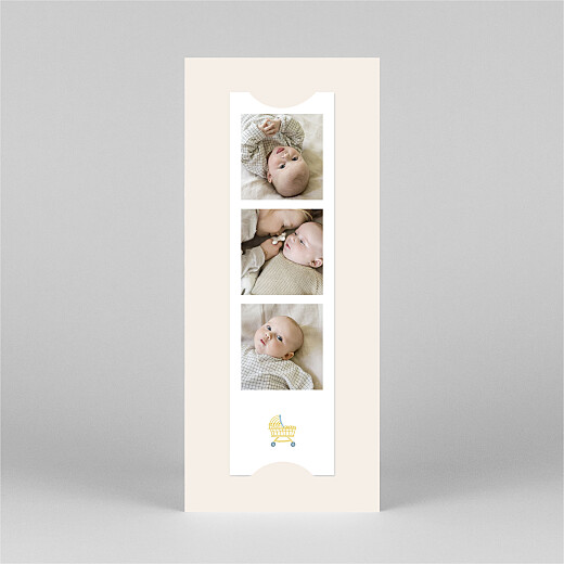 Baby Thank You Cards My little world (bookmark) colour - View 3